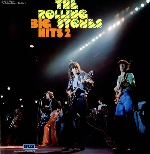 Rolling Stones Big Hits 2 - Deutscher Schallplattenclub Edition vinyl LP album (LP record) German ROLLPBI109572