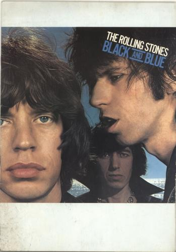 Rolling Stones Black And Blue + 2 Ticket Stubs tour programme UK ROLTRBL319018