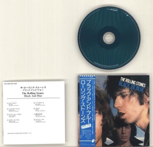 Rolling Stones Black And Blue - Platinum SHM CD Japanese ROLHMBL692238