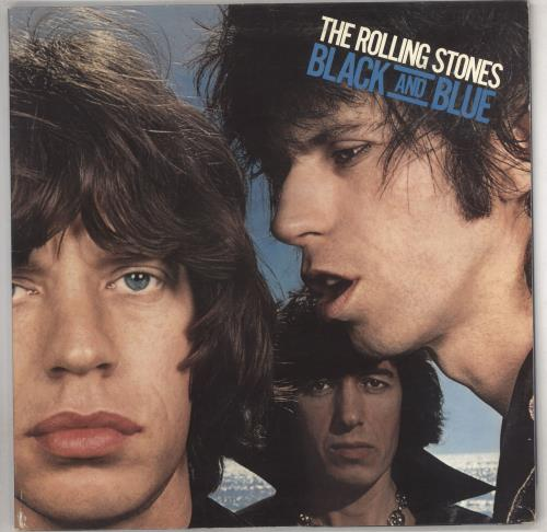 Rolling Stones Black And Blue - yellow label vinyl LP album (LP record) UK ROLLPBL591447