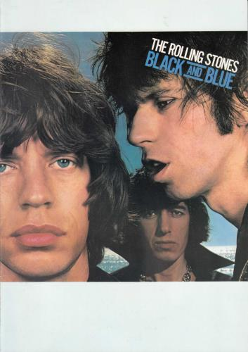 Rolling Stones Black And Blue tour programme UK ROLTRBL60775