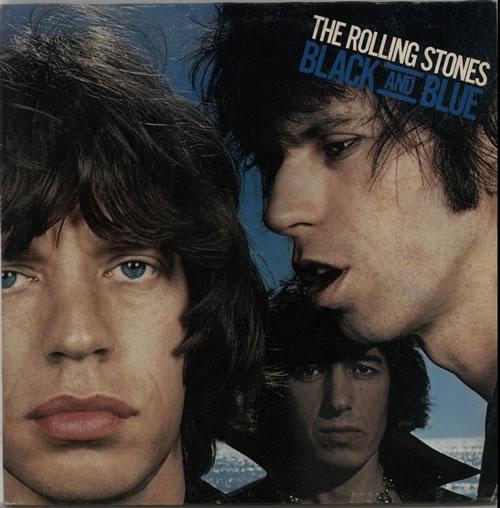 Rolling Stones Black And Blue vinyl LP album (LP record) Brazilian ROLLPBL628612