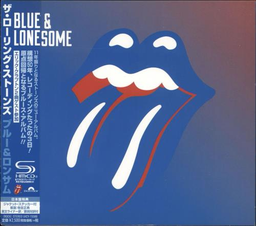 Rolling Stones Blue & Lonesome SHM CD Japanese ROLHMBL715675