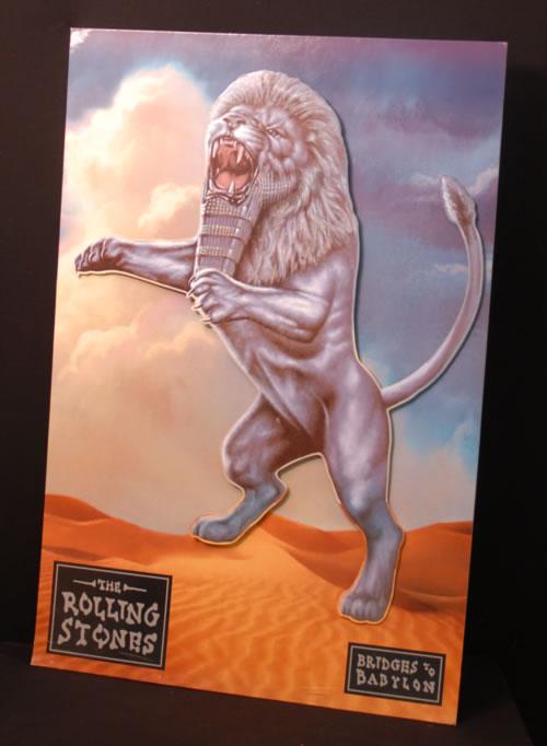 Rolling Stones Bridges To Babylon - 3-D Display display UK ROLDIBR618848