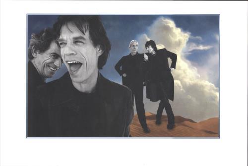 Rolling Stones Bridges To Babylon memorabilia US ROLMMBR113175