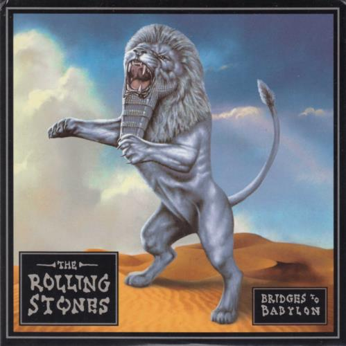 Rolling Stones Bridges To Babylon CD album (CDLP) UK ROLCDBR96018
