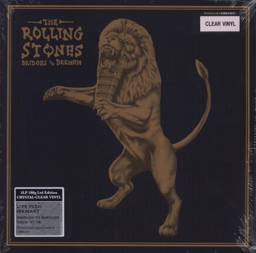Rolling Stones Bridges To Bremen - 180gm Clear Vinyl - Sealed 3-LP vinyl record set (Triple Album) UK ROL3LBR730537