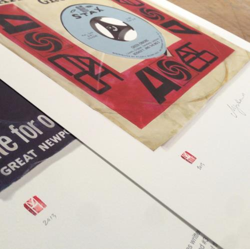 Rolling Stones Brown Sugar - SuperSizeArt Numbered Print artwork UK ROLARBR732500