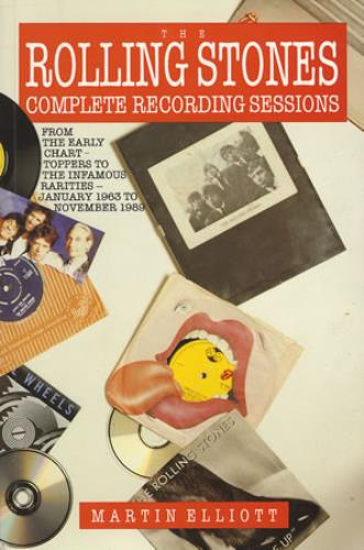 Rolling Stones Complete Recording Sessions book UK ROLBKCO370667