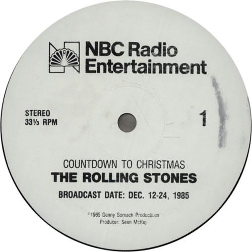 Rolling Stones Countdown To Christmas vinyl LP album (LP record) US ROLLPCO66345