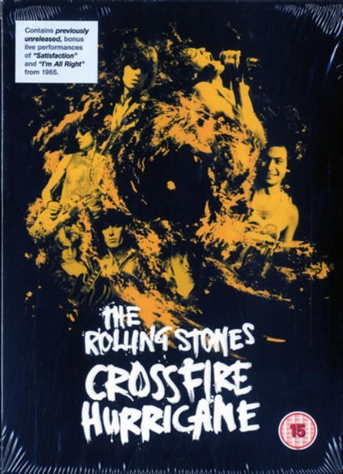 Rolling Stones Crossfire Hurricane DVD UK ROLDDCR578717