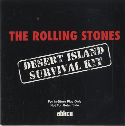 Rolling Stones Desert Island Survival Kit CD album (CDLP) US ROLCDDE32423
