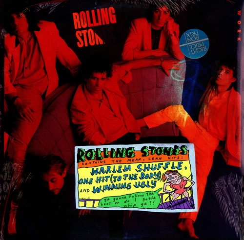 Rolling Stones Dirty Work Sealed Canadian Vinyl Lp Album