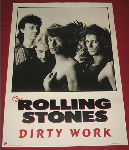 Vintage rolling stones poster #6