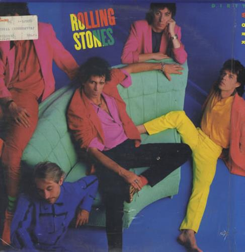 Rolling Stones Dirty Work vinyl LP album (LP record) Venezuelan ROLLPDI370485