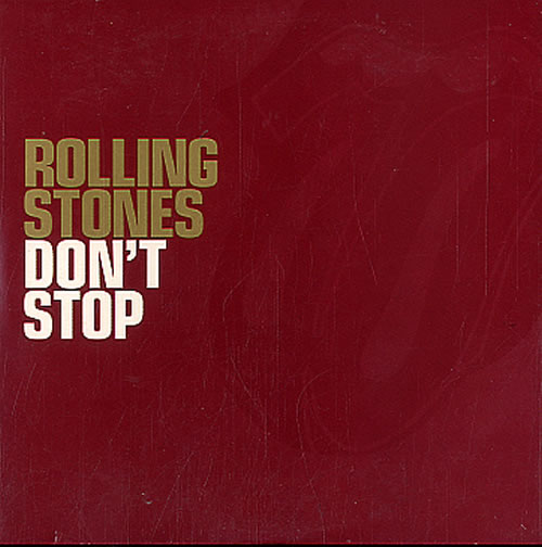 """Rolling Stones Don't Stop CD single (CD5 / 5"""") UK ROLC5DO226142"""