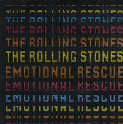 Rolling Stones Emotional Rescue - Picture Sleeve UK 7