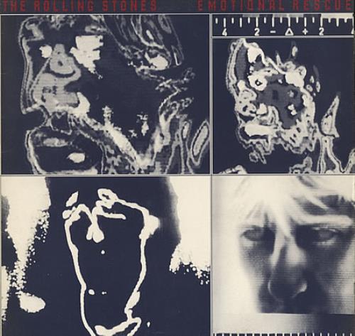 Rolling Stones Emotional Rescue vinyl LP album (LP record) UK ROLLPEM403039