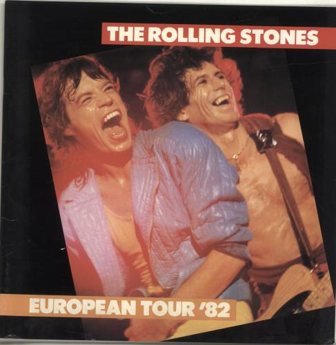 Rolling Stones European Tour 1982 + cuttings tour programme UK ROLTREU381290