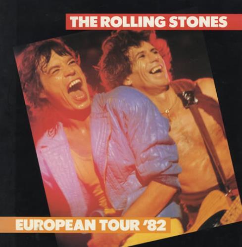 Rolling Stones European Tour '82 tour programme UK ROLTREU47602