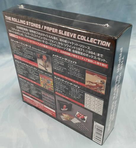Rolling Stones Exhibitionism Exclusive + Paper, Coaster & Postcard SHM CD Japanese ROLHMEX727088
