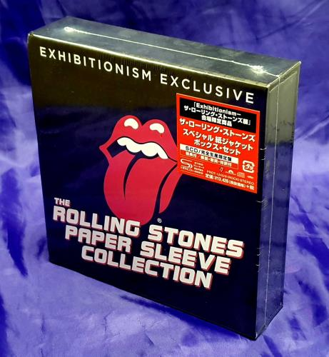 Rolling Stones Exhibitionism Exclusive + Paper, Coaster & Sticker SHM CD Japanese ROLHMEX725621