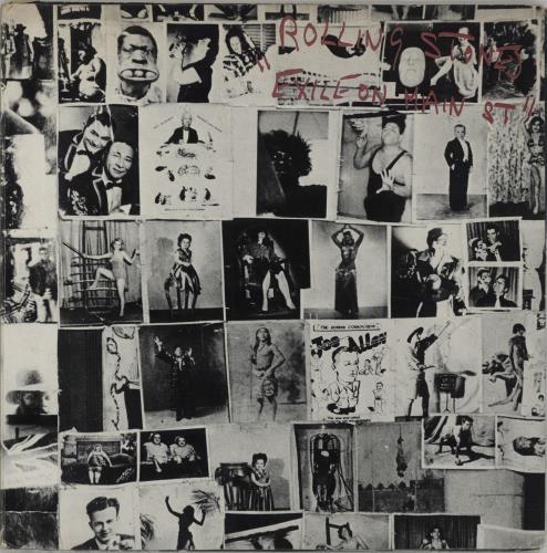 Rolling Stones Exile On Main St - 12 Postcards - VG 2-LP vinyl record set (Double Album) Japanese ROL2LEX664623