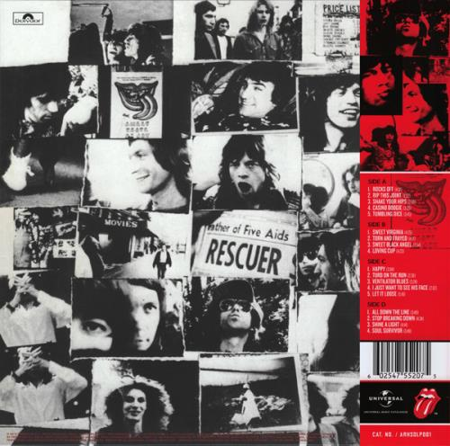 Rolling Stones Exile On Main St - Abbey Road Half Speed Mastered - Sealed 2-LP vinyl record set (Double Album) UK ROL2LEX662781