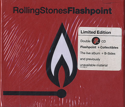 Rolling Stones Flashpoint Collectibles Us 2 Cd Album Set