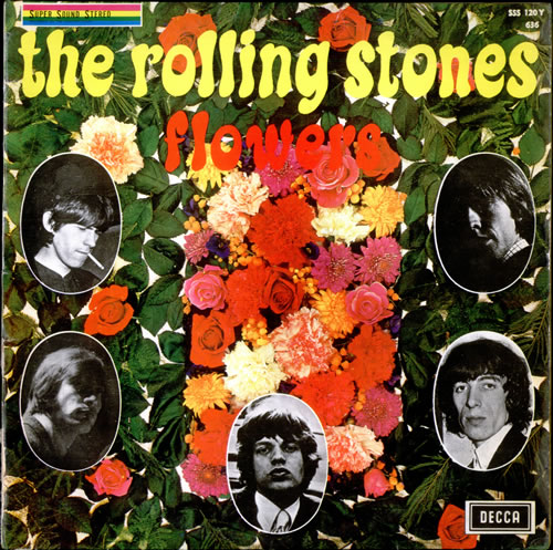 Rolling Stones Flowers Belgian Vinyl Lp Album Lp Record