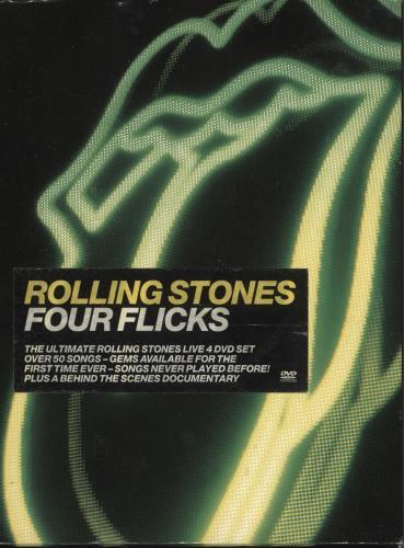 Rolling Stones Four Flicks DVD UK ROLDDFO261771