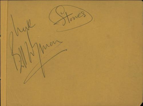 Rolling Stones Full Set Of 1966 Autographs memorabilia New Zealand ROLMMFU644414