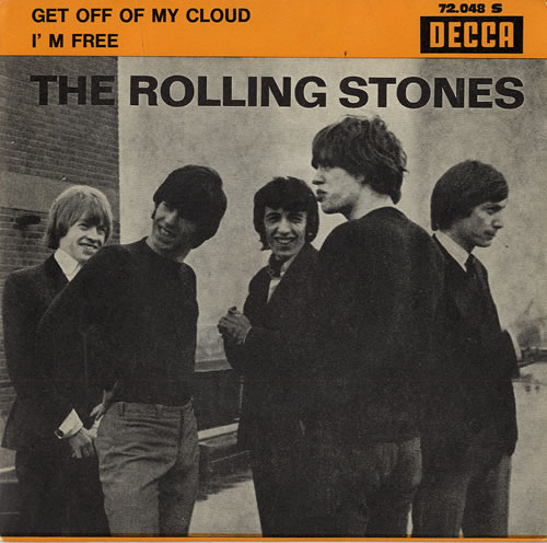 Rolling Stones Get Off Of My Cloud French 7 Quot Vinyl Single
