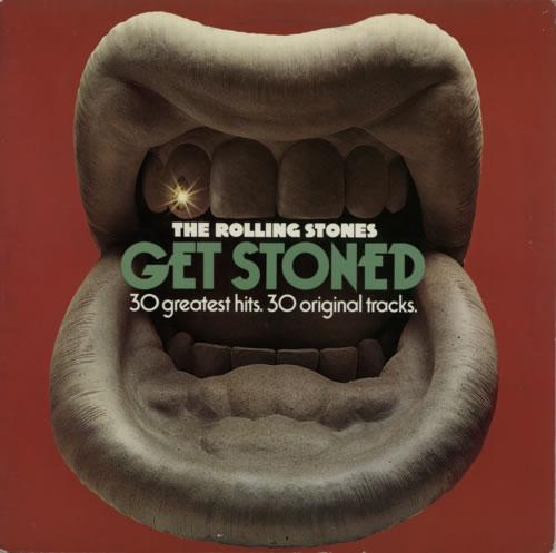 Rolling Stones Get Stoned - 30 Greatest Hits 2-LP vinyl record set (Double Album) Dutch ROL2LGE589670