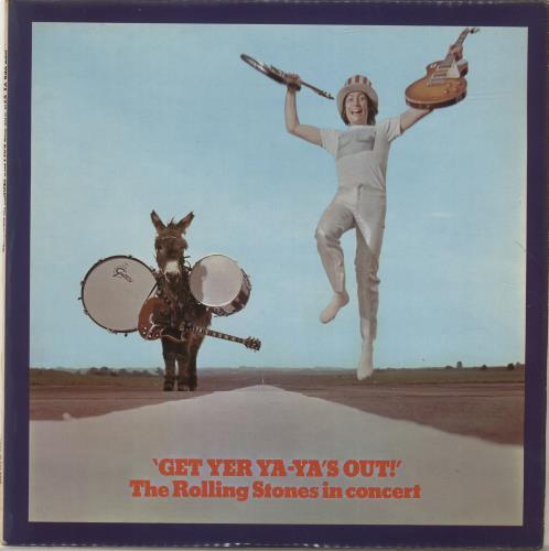 Rolling Stones Get Yer Ya-Ya's Out! - 1st - VG vinyl LP album (LP record) UK ROLLPGE578413