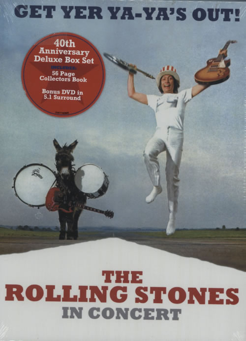 Rolling Stones Get Yer Ya-Ya's Out! 3-disc CD/DVD Set UK ROL3DGE490651