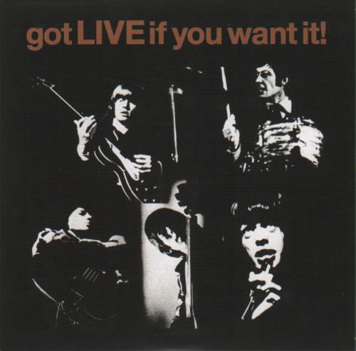 """Rolling Stones Got Live If You Want It! - RSD(BF)13 7"""" vinyl single (7 inch record) US ROL07GO682969"""