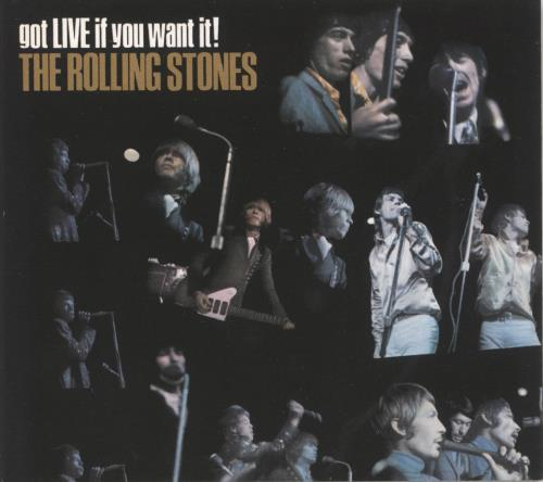 Rolling Stones Got Live It You Want It! super audio CD SACD UK ROLSAGO237234