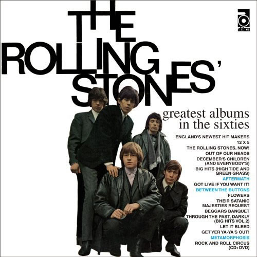 Rolling Stones Greatest Albums In The Sixties Japanese