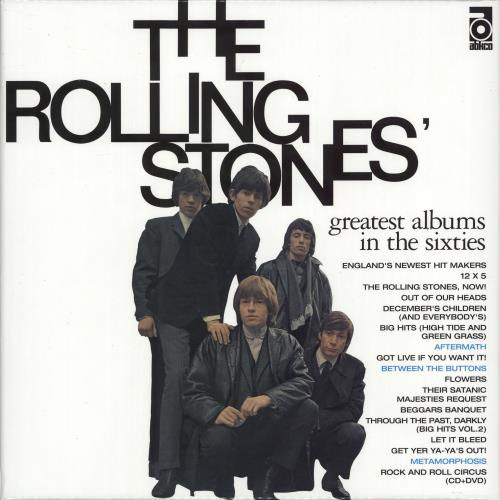 Rolling Stones Greatest Albums In The Sixties SHM CD Japanese ROLHMGR704262