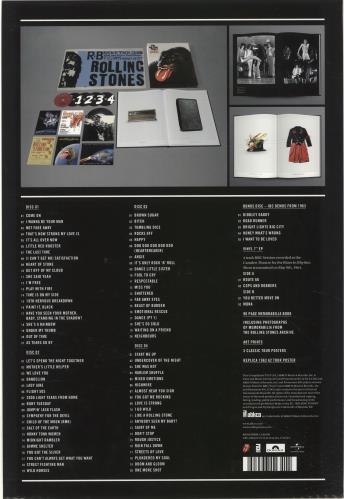 Rolling Stones Grrr! - Deluxe Edition CD Album Box Set Japanese ROLDXGR692189