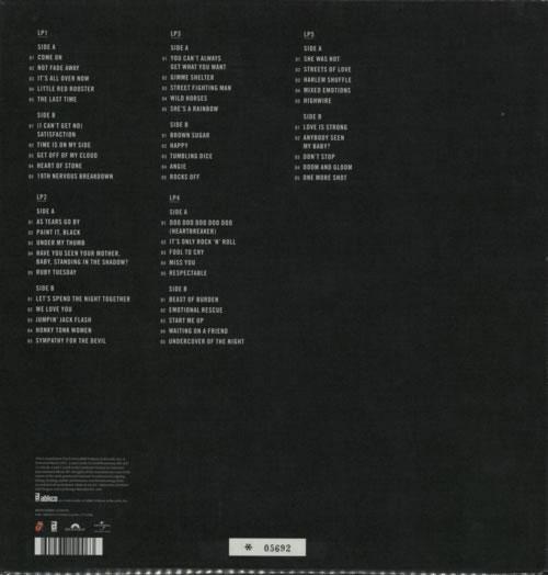 Rolling Stones Grrr Uk Vinyl Box Set 585282