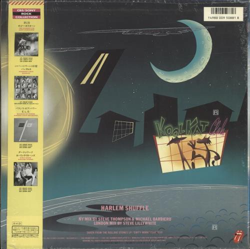 "Rolling Stones Harlem Shuffle + Shrinkwrap 12"" vinyl single (12 inch record / Maxi-single) Japanese ROL12HA696922"