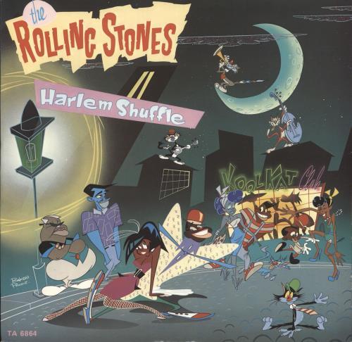 """Rolling Stones Harlem Shuffle 12"""" vinyl single (12 inch record / Maxi-single) UK ROL12HA41122"""