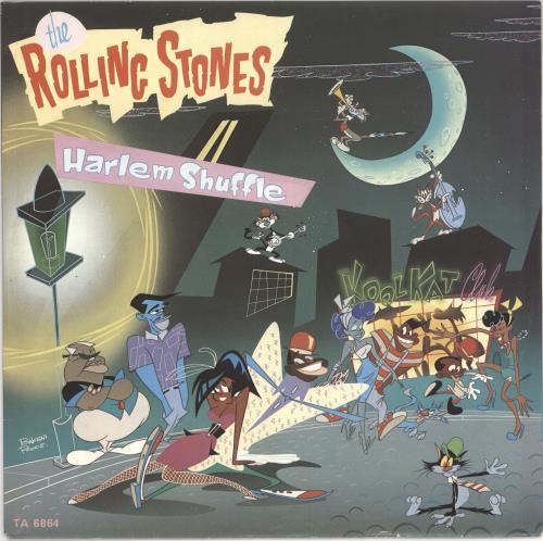 "Rolling Stones Harlem Shuffle 12"" vinyl single (12 inch record / Maxi-single) Dutch ROL12HA617083"