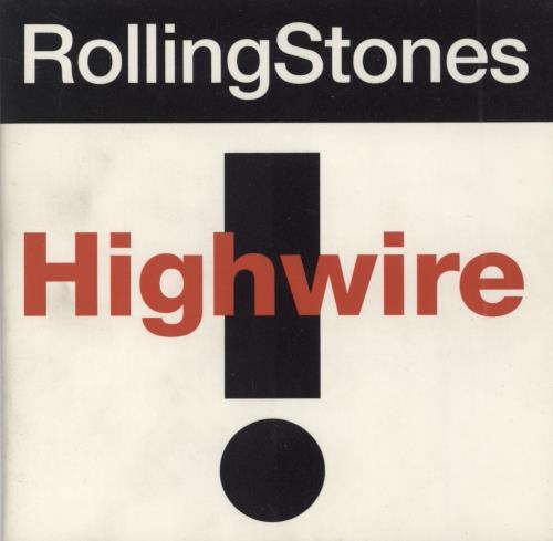 """Rolling Stones Highwire - 4 Track CD single (CD5 / 5"""") UK ROLC5HI13203"""