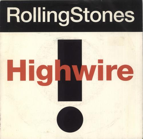 "Rolling Stones Highwire 7"" vinyl single (7 inch record) UK ROL07HI44410"