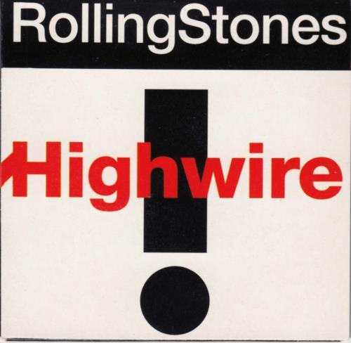 "Rolling Stones Highwire 3"" CD single (CD3) Dutch ROLC3HI93958"