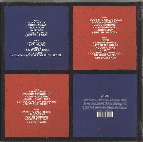 Rolling Stones Honk Sealed Uk 3 Lp Vinyl Record Set