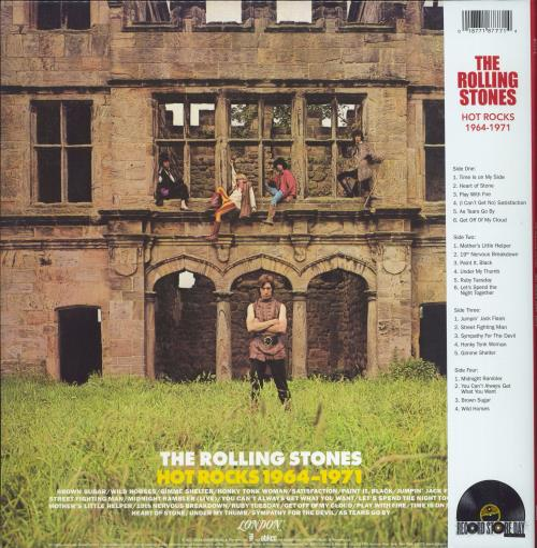 Rolling Stones Hot Rocks 1964-1971 - Yellow Vinyl - RSD 2021 - Sealed 2-LP vinyl record set (Double Album) UK ROL2LHO771921